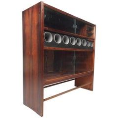 Mid-Century Modern Danish Rosewood Bar by Heltborg Møbler