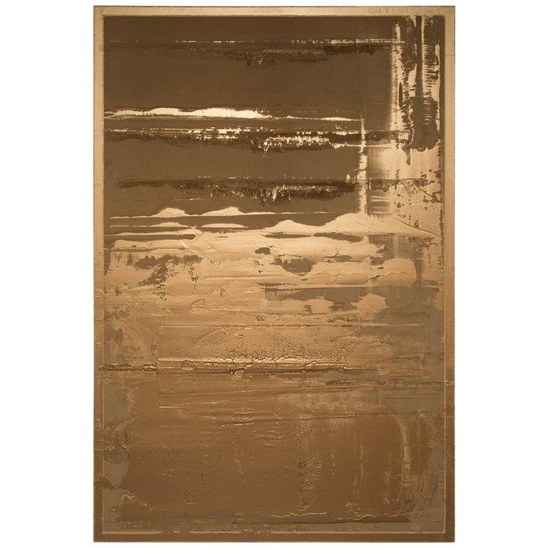 Pierre Bonnefille Bronze Painting 73 For Sale