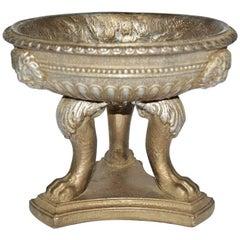 Vintage Three-Legged Urn