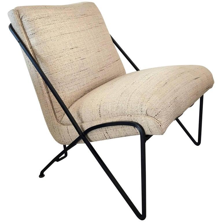 Rare Maurizio Tempestini Lounge Chair for Salterini For Sale