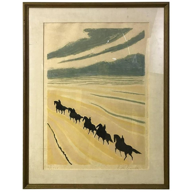 Andre Brasilier Limited Edition Signed Lithograph