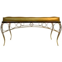 Glam Hollywood Regency Bench by George Koch and Sons