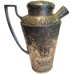 Dutch Silver Ewer or Jug