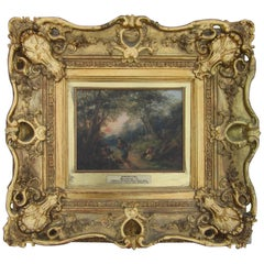 English Oil Painting, Victorian Period