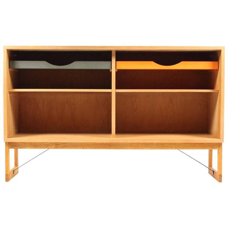 Oak Bookcase by Børge Mogensen For Sale