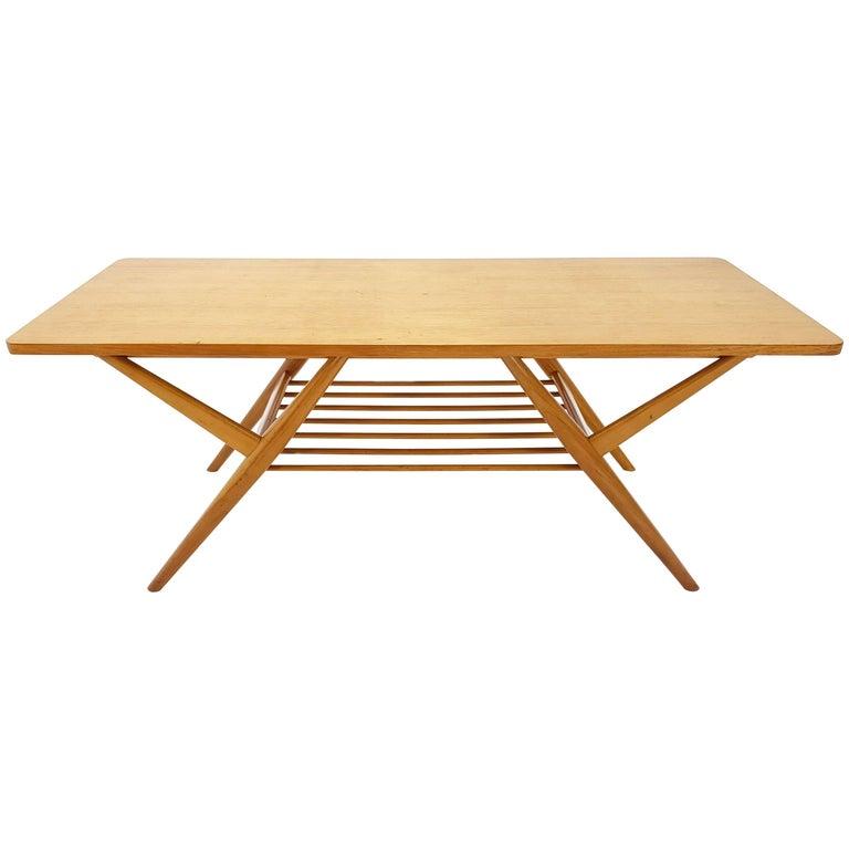 Birch Coffee Table, 1950s