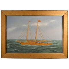 Thomas Willis Picture of the Two-Masted Schooner, Sarah E. Walters