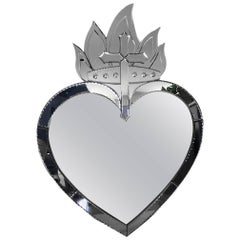 Sacred Heart Mirror by Currey