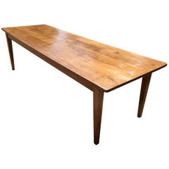 Antique Cherry French Farmhouse Table