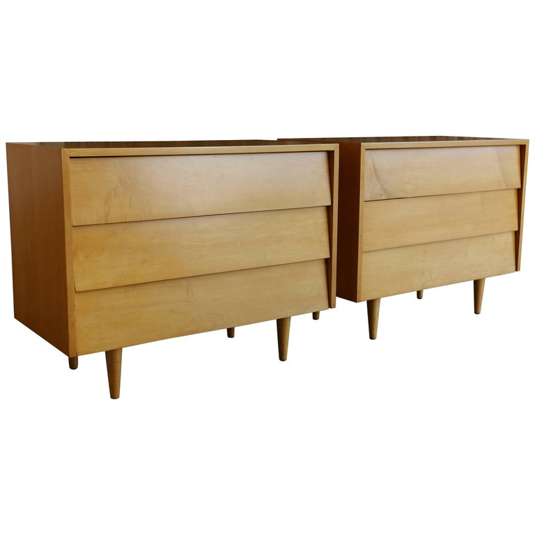 Pair of Early Chest by Florence Knoll