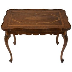 Mid-19th Century English Inlaid Side Table