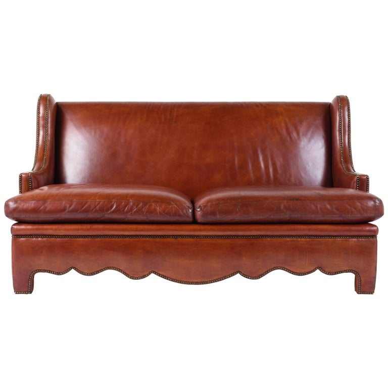 Vintage Leather Sofa For Sale At 1stdibs