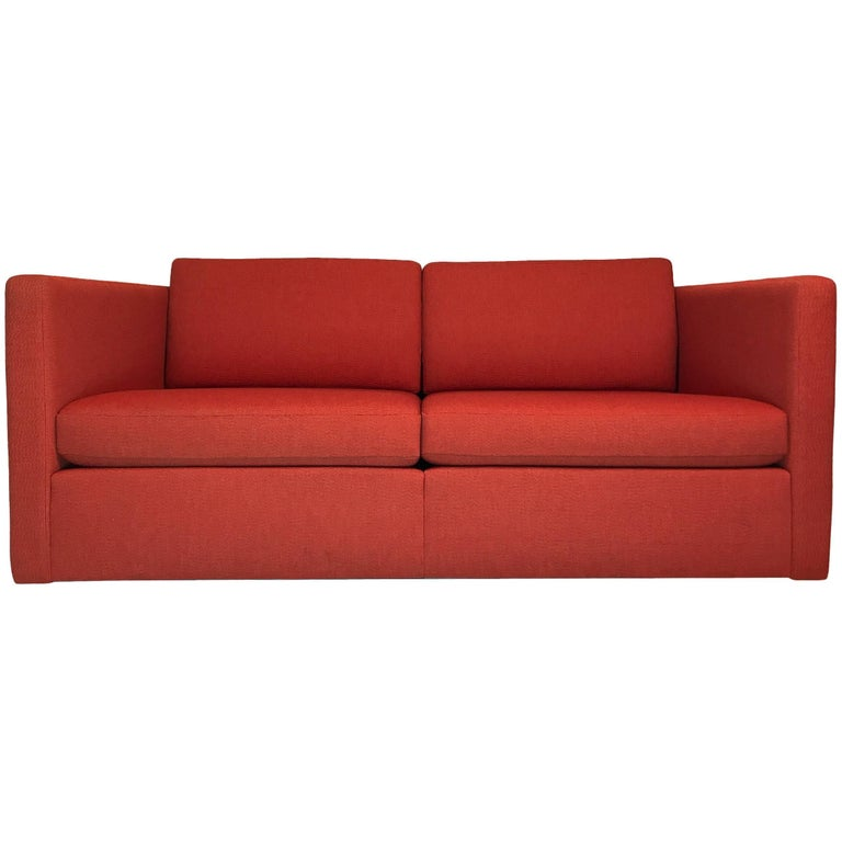Charles Pfister For Knoll Two Seat Sofa Settee Or Loveseat