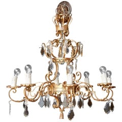 1950 Medieval Chandelier in the Style of Maison Jansen