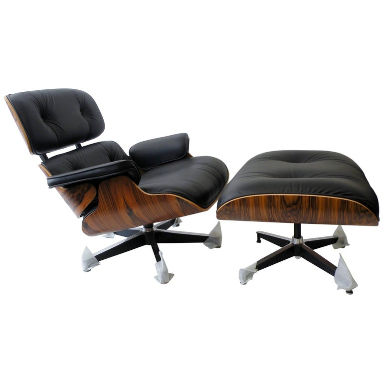 Charles & Ray Eames Herman Miller 670 671 Lounge Chair and Ottoman 1
