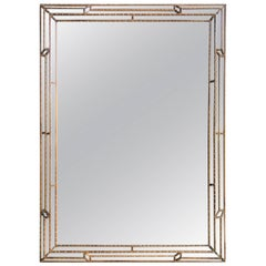 Faux-Bamboo Mirror Attributed to La Barge