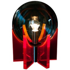 1960s Italian Lucite Light