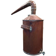 Early 20th Century Small Size Copper Still