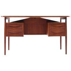 Midcentury Danish Desk in Teak