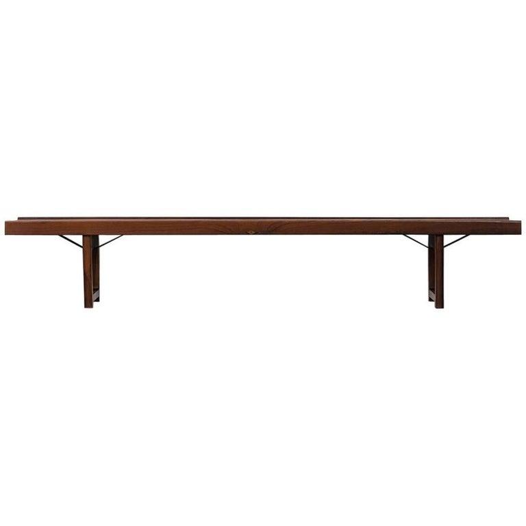 Torbjørn Afdal Krobo Bench or Side Table by Bruksbo in Norway