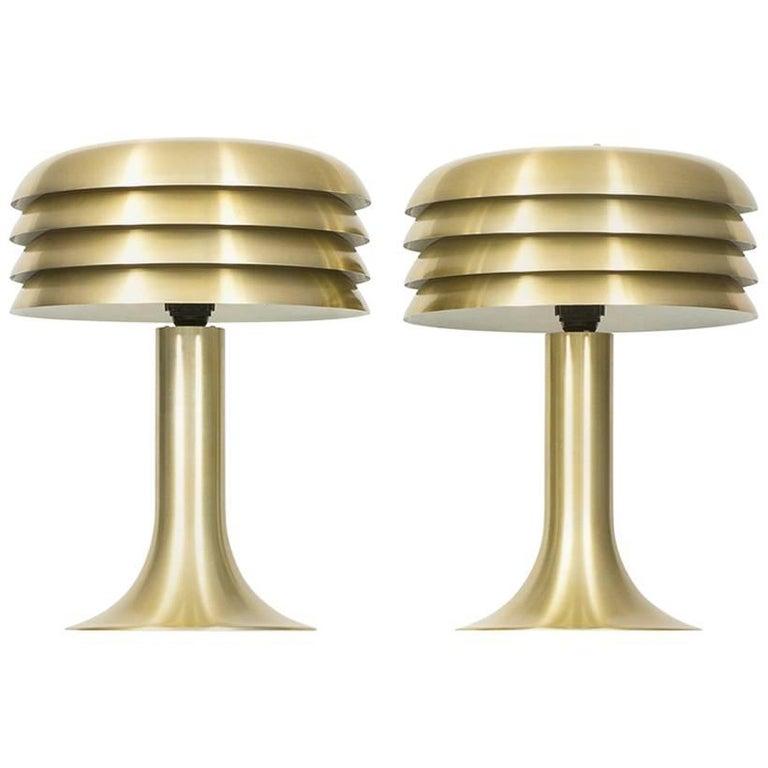 Hans Agne Jakobsson Table Lamps Model Bn 26 By Hans Agne