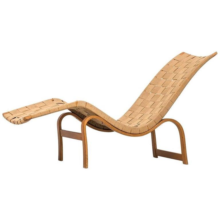 Bruno Mathsson Lounge Chair Model 36 by Karl Mathsson in Sweden
