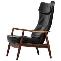 Ib Kofod-Larsen Reclining Chair Model PD-21 by Povl Dinesen in Denmark