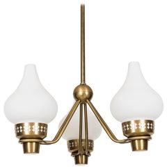 Hans Bergström Ceiling Lamp by ASEA in Sweden