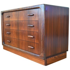 Rosewood Chest of Drawers by Dyrland