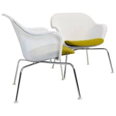 Pair of B & B Italia Iuta Side Chairs by Antonio Citterio