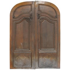 Double Door from an Haussmannian Building in Oakwood, Late 19th Century