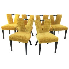 "Paul Frankl for Johnson ""Corset"" Dining Chairs"