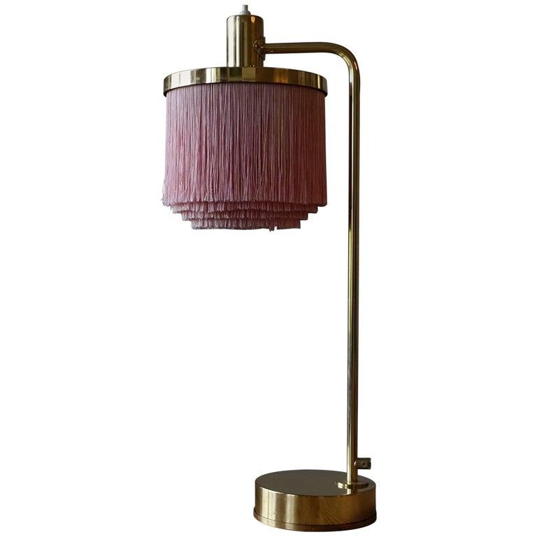 Hans-Agne Jakobsson Model B-140 Brass Table Lamp, 1960s