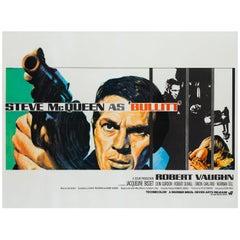 Bullitt Original UK Film Poster, Tom Chantrell, 1968