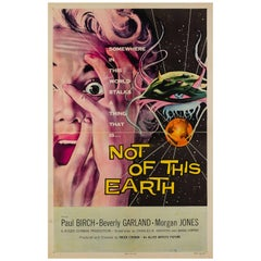 Not of This Earth Original Uu Film Poster, Albert Kallis, 1957