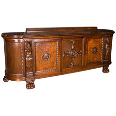 19th Century Monumental Masterpiece Commode with Figures Neo-Renaissance