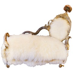 Pure Lamb Daybed in Mongolia Lamb Wool