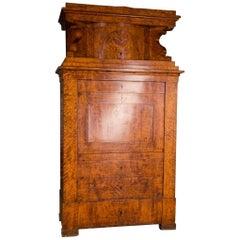 19th Century High-quality Biedermeier Cupboard Birch Veneer, circa 1820