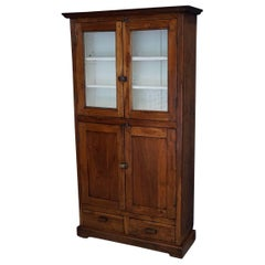 French Farmhouse Kitchen Cabinet, 1870s