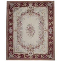 Hand made Aubusson Rugs, Flat Woven Kilim Rugs, French Style Carpet
