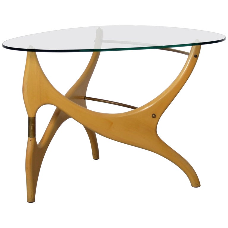 Coffee Table in the Style of Carlo Mollino