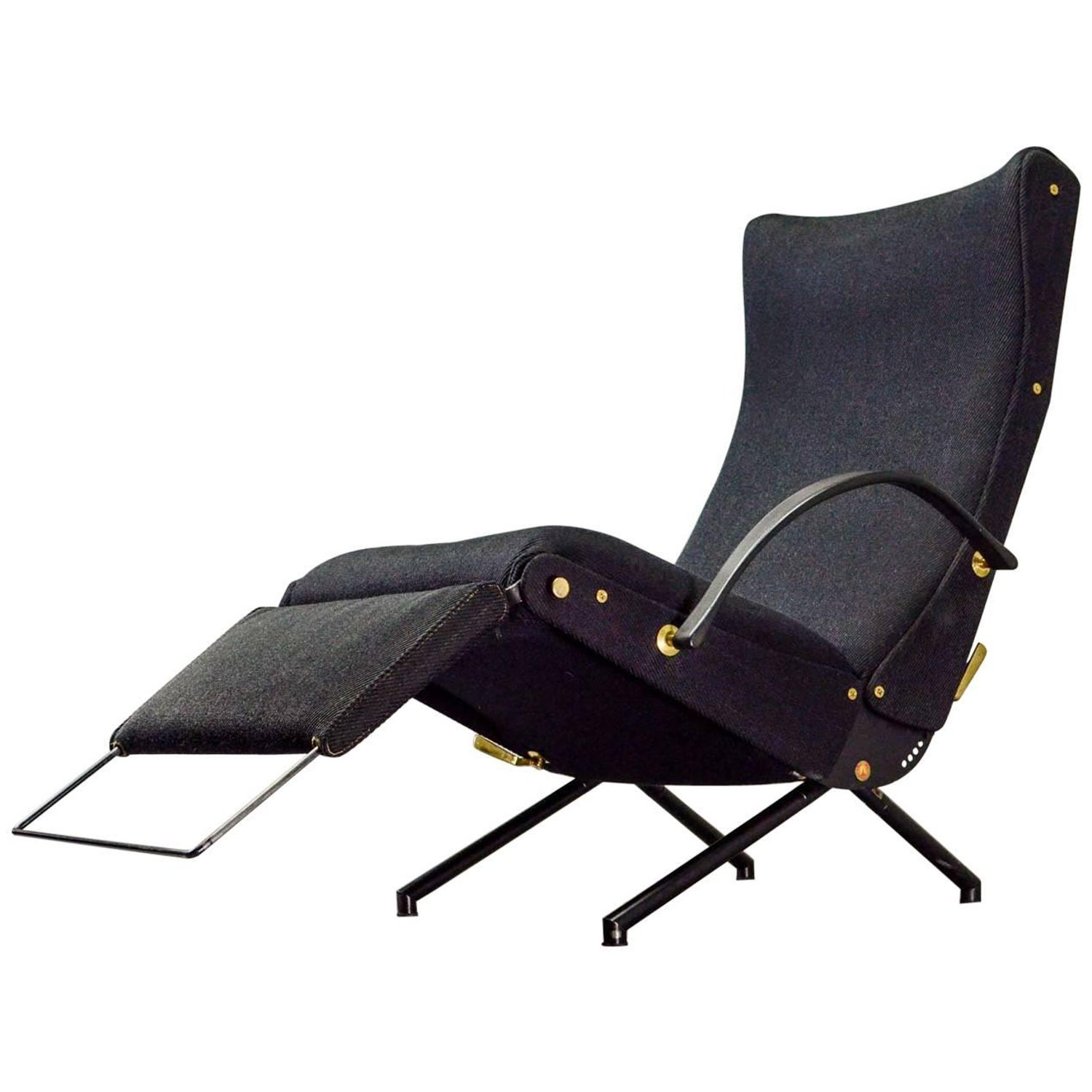 Osvaldo Borsani Reclining Lounge Chair P40 at 1stdibs