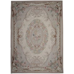 20th Century Aubusson Rugs, Flat-Weave Rug from China