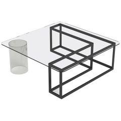Nunki Square Coffee Table by Iacoli & McAllister, Handmade in USA
