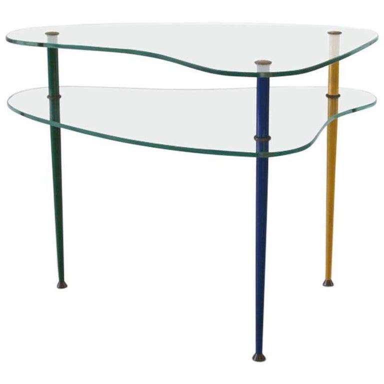 """Italian V.I.S. Coffee Table """"Arlechino"""", 1950s"""