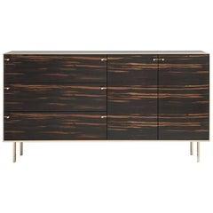 Ingemar Cabinet - Standard (or Dresser) in African Ebony and Bronze