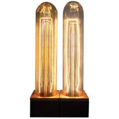 Vintage Filament Tubular Bulb - Incandescent Edison Bulb - Dimmable T9 Bulb 40w