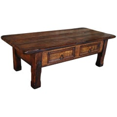 20th Century Oakwood Coffee Table