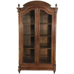 19th Century French Louis XVI Bookcase, Display Armoire