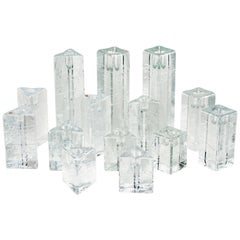 Group of 14 Arkipelago Candlesticks by Iittala